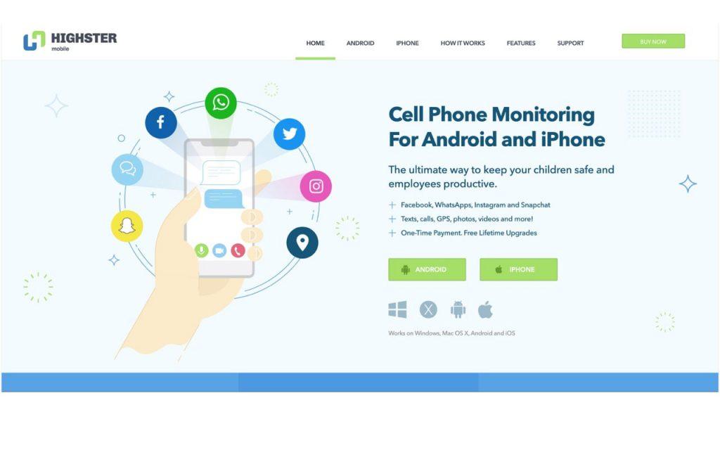 Highster Mobile (ردیاب تلفن پیشرفته)