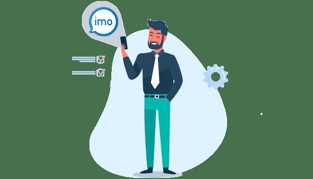برنامه هک ایمو imo و کنترل پیام ها