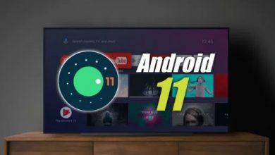تصویر از اندروید 11 برای تلویزیون های هوشمند معرفی شد