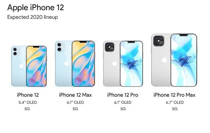 رونمایی اپل از آیفون 12
